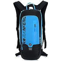 createjia Mochila de Ciclismo Mochila de Ciclismo Bolsa para Montar Mochila de Ciclismo Mochila Transpirable Ligero para Deportes al Aire Libre Mochila de hidratación