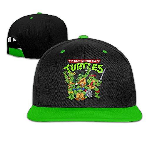 biotio-teenage-mutant-ninja-turtles-adjustable-snapback-hip-hop-baseball-caps-hats-for-unisex