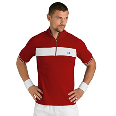 Image Unavailable. Image not available for. Colour  Fred Perry Men s Bradley  Wiggins Panel Shirt ... da4a77df5