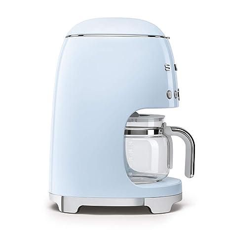Smeg DCF01PBEU - Cafetera (Independiente, Máquina espresso, 1,4 L, 1050 W, Azul): Amazon.es: Hogar