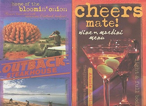 Mate Martini (Outback Steakhouse No Rules Dinner Menu and Cheers Mate Wine & Martini Menu 2003)
