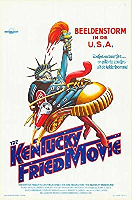 "Kentucky Fried Movie (Belgian ) POSTER (11"" x 17"")"