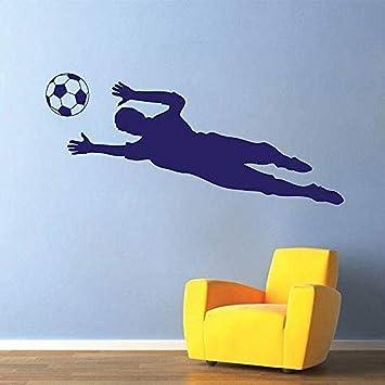 Soccer Goalkeeper Football Mural Removable and Reusable Wallpaper