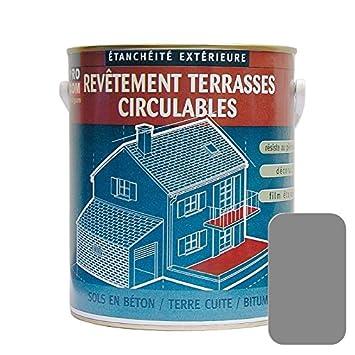 Superior Peinture Du0027étanchéité Imperméabilisante Pour Terrasse Circulable, Balcon,  Sols Extérieurs, Béton,