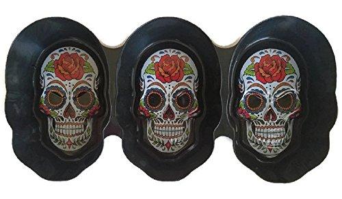 Day of the Dead Dia De Los Muertos Sugar Skull Party Serving Bowl