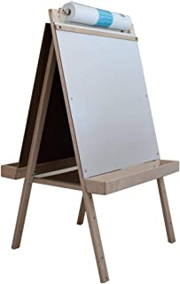 product image for Beka 01921 Ultimate Easel44; magnetboard44; chalkboard44; wood trays - 42 in. high