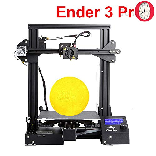 "Creality Ender 3 Pro 3D Printer, Resume Printing Metal Frame FDM Printer 8.6"" x 8.6"" x 9.8"" Magnetic Bed UL Certified Power Supply 220x220x250mm"