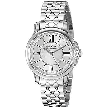 Bulova 63R143 Stainless Steel Silver Women's Watch