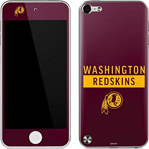 Skin Redskins Washington Ipod - Skinit NFL Washington Redskins iPod Touch (5th Gen&2012) Skin - Washington Redskins Maroon Performance Series Design - Ultra Thin, Lightweight Vinyl Decal Protection