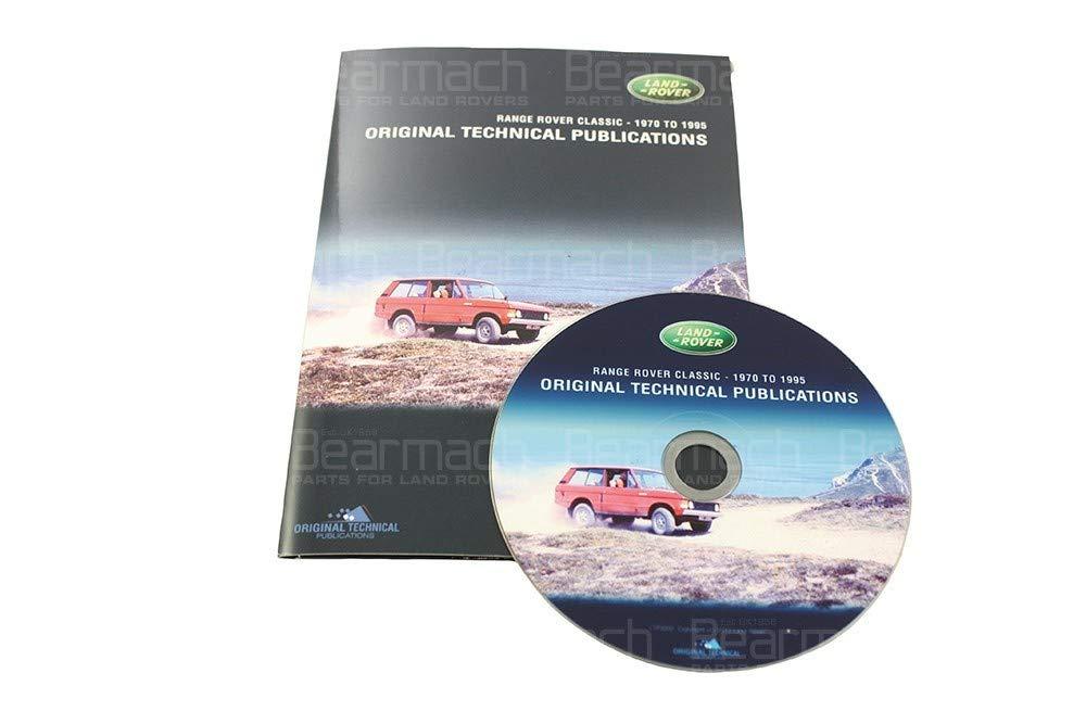 BEARMACH OEM - Parts CD - Range Rover Classic 1970-1995 Part# LTP3002 by BEARMACH (Image #1)