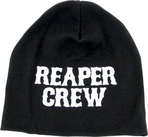 Reaper Crew Baseball Cap - Sons of Anarchy Reaper Crew Black Beanie Cap Hat