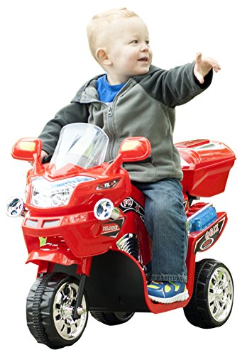 Lil' Rider 3 Wheel Battery Powered FX Sport Bike - Red Ride On