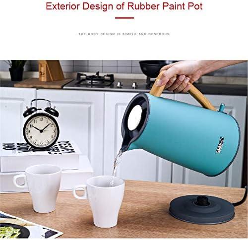 1,7 l Wasserkocher   Schnurloser Wasserkocher aus Edelstahl   Auto-Shut-Off & Boil-Dry-Schutz   Erhitzt sich schnell und einfach 1800W