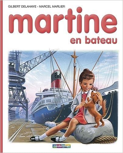 Martine, numéro 10, : Martine en bateau