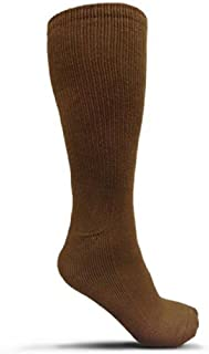 product image for Thorlos Unisex MCB Combat Thick Padded Sock, Coyote Brown, Medium