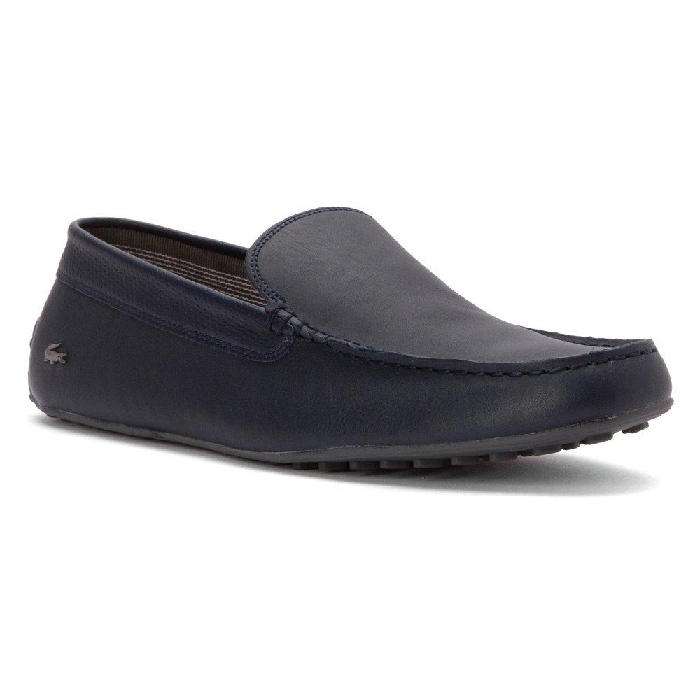 Lacoste - Mocasines para Hombre Azul Azul Oscuro: Amazon.es: Zapatos y complementos