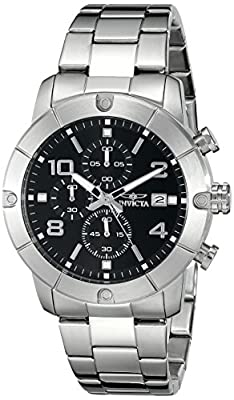 Invicta Men's 17762 Specialty Analog Display Japanese Quartz Silver Watch