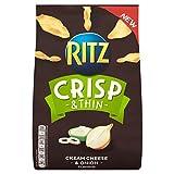 Ritz Crisp & Thin Cream Cheese & Onion Crisps 100g