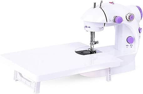WANGLXST Máquina de Coser con Mesa de Costura, Mini Sastre ...