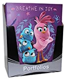 Angry Birds 2 Pocket Portfolio, 9.75 x 11.75 Inches, 24 Piece Set, Three Graphic Designs - 8 of Each Design (07245)