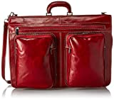 Floto Luggage Venezia Garment Bag, Tuscan Red, Large