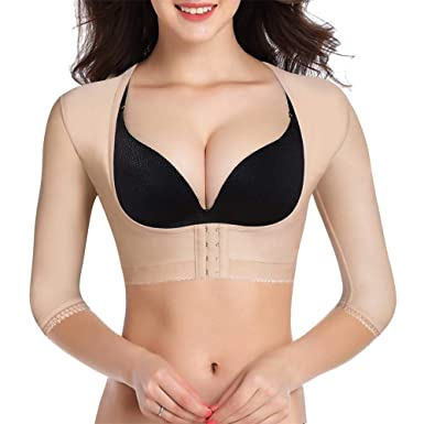 2fd691811f BRABIC Upper Arm Shaper Post Surgical Slimmer Compression Sleeves Humpback  Posture Corrector Tops Shapewear for Women
