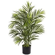 Nearly Natural 5387 Areca Palm UV Resistant Tree, 2.5-Feet, Green