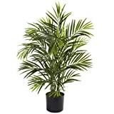 Nearly Natural 5387 Areca Palm UV Resistant Tree, 2.5-Feet, Green