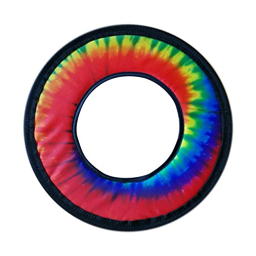 Tie Dye Fabric Frisbee Flying Ring 10'' by T. Toys