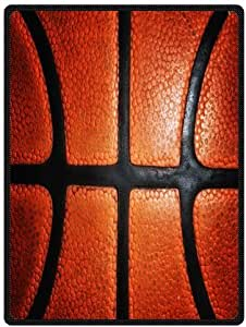 """Basketball Super Soft Plush Queen Size Blanket 58"""" x 80"""" (Large)"""