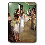 3dRose LLC lsp_126966_1 The Dance Class, 1874 By Edgar Degas Single Toggle Switch