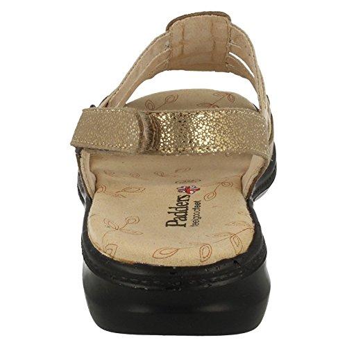 Padders, Sandali donna Oro oro