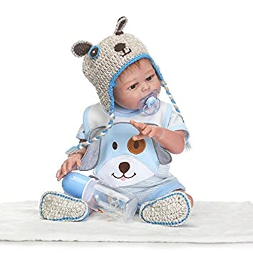 deb50ede0679 ZIYIUI 20 inches Realistic Reborn Baby Dolls that Look Real Newborn ...