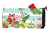 XW-FGF Fruit Flowers And Flamingo Magnetic mailbox cover Home Magnetic