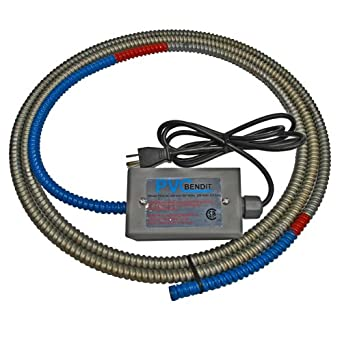 Pvc Pipe Heater Bender Pvc Bendit A9 Bends Schedule 40 80 Pvc Pipe Id 1 2 Inch To  Inch X 9 Ft Length Tools Products Amazon Com Industrial