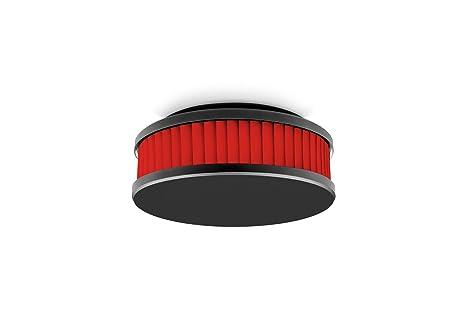 Pyrexx PX-1 - Detector de humos, color: negro y rojo