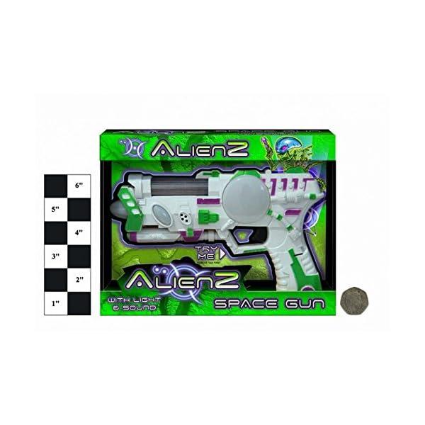Alienz Pistola Espacial con luz y sonido