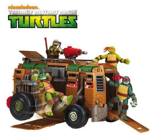 GIOCHI PREZIOSI TMNT - El camión Tortugas Ninja: Amazon.es ...