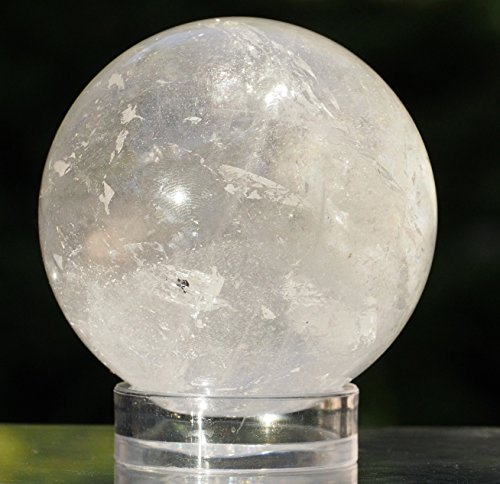quartz crystal sphere - 5