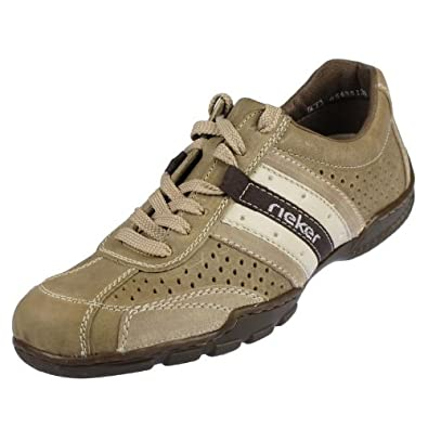 Rieker Ryan 01715 Herren Sneaker Leder, Beige, Größe 42  Amazon.de ... 9f112d9983
