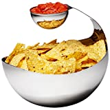 Bruntmor, DIPPIN 18/8 Stainless Steel Chip and Dip set 50oz