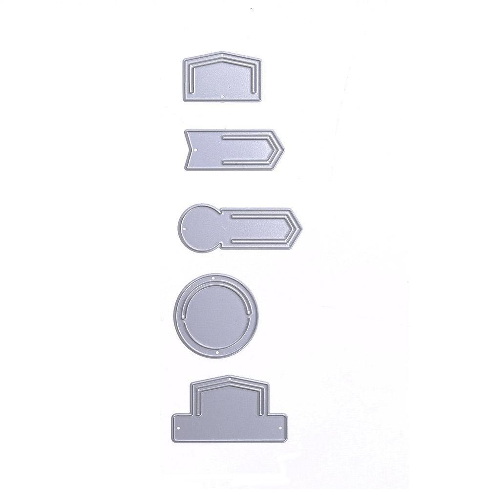 demiawakingleave Wort Rahmen Metall Schablone DIY Scrapbook Craft ...