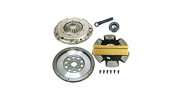 sachs-eft etapa 4 Disco Kit de embrague + Carrera volante VW Golf GTI Jetta Passat 2.8L VR6: Amazon.es: Coche y moto