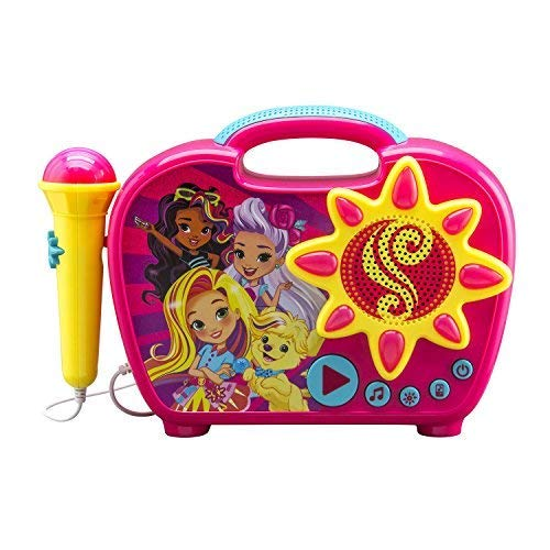 (Sunny Day Sing Along Boombox with Real Working Mic Built in Music and Can connect to MP3 Player)