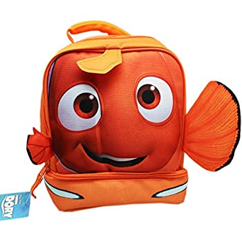9128e7f91ee3 Amazon.com: Finding Nemo Drop Bottom Lunch Bag: Kitchen & Dining