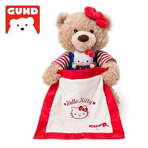 [Sanrio Hello Kitty × GUND Peek-a-boo Bear From Japan New] (Boo Monsters Inc Costume Toddler)