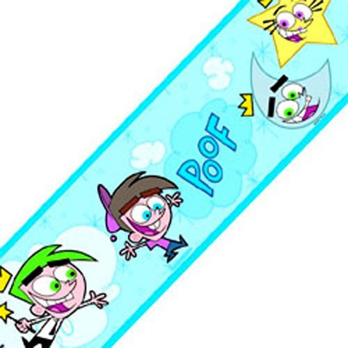 Fairly Odd Parents Nickelodeon Wall Paper Border Roll