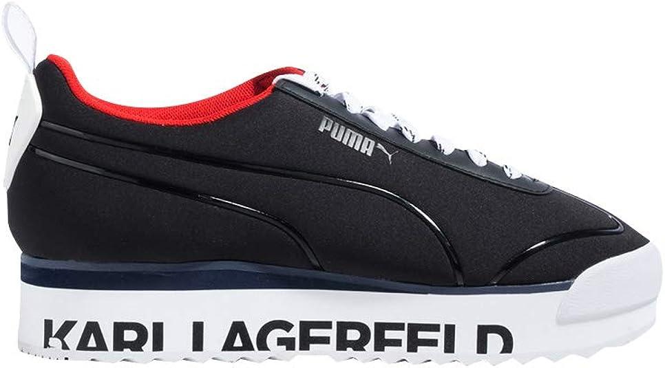 Amazon.com | PUMA X Karl Lagerfeld Roma Flatform Sneaker ...