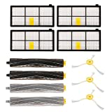XCSOURCE 12PCS Accessories for iRobot Roomba 800/900 Series, 880/860/870/871/980/990 Vacuum Cleaning Robots Replenishment Parts Spare Brushes Kit HS966