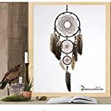 Karleksliv Three circles Dreamcathers large home ornaments Old Indianness Home Garden Furniture Decor Decorative Dream Catchers an ancient mysterious valentine's day gift BMW087